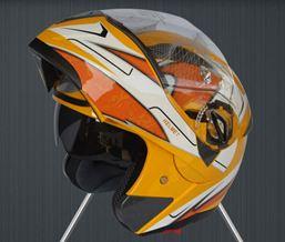 Mũ bảo hiểm GXT vàng 3D