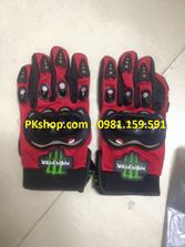 Găng tay full ngón Monster màu đỏ