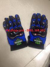 Găng tay full ngón Monster màu xanh