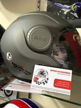 Mũ 3/4 GRS 649 màu ghi