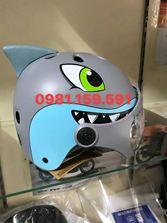 Mũ cá mập TE có kính