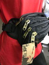 Túi đeo hông ,đeo bụng 4 ngăn khóa đồng