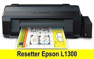 Hướng dẫn reset máy in epson l1300