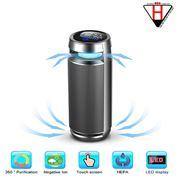 Máy lọc mùi thuốc lá, ẩm mốc, mùi hôi xe hơi, Car Ionizer Air Purifier