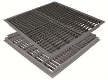 65% Ventilation Steel Air-flow Raised Floor