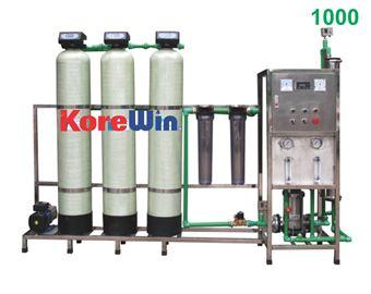 Dây chuyền sản xuất nước tinh khiết. Công suất 1000l/h