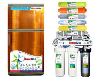 Máy lọc nước RO Korewin Cao cấp 10 lõi. Đèn UV