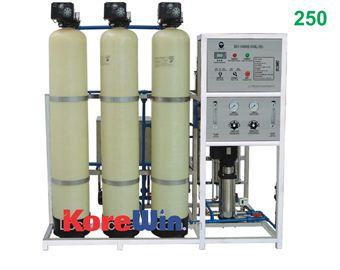 Dây chuyền sản xuất nước tinh khiết. Công suất 250l/h