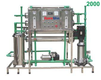 Dây chuyền sản xuất nước tinh khiết. Công suất 2000l/h