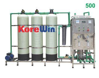 Dây chuyền sản xuất nước tinh khiết. Công suất 500l/h