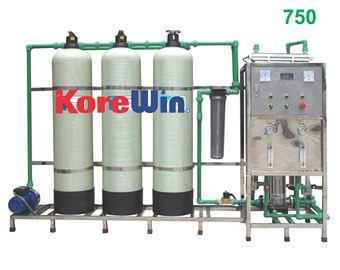 Dây chuyền sản xuất nước tinh khiết. Công suất 750l/h