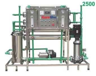 Dây chuyền sản xuất nước tinh khiết. Công suất 2500l/h