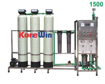 Dây chuyền sản xuất nước tinh khiết. Công suất 1500l/h