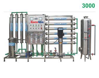 Dây chuyền sản xuất nước tinh khiết. Công suất 3000l/h