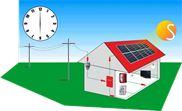 Hệ thống điện mặt trời hòa lưới 1.1KW Solarcity