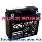 Ắc quy xe máy GS 12V-5Ah GT5A xe Honda Dream, Click, jupiter, MIO, Sirius
