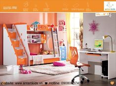 Giường 3 tầng trẻ em KH629