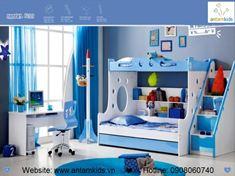 Giường 3 tầng cho bé KH639