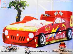 Giường hình xe Ôtô ATK072R màu đỏ