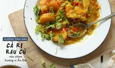 Cách nấu cà ri rau củ với nồi cơm điện NS-YSQ18