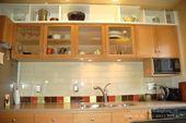 Một góc nhìn tủ bếp gỗ sồi Nga