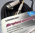 Cable TS-C10 ( XLR-6,3mm)