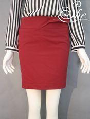 Chân váy juyp V3004 Đỏ đô