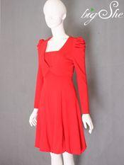 Đầm công sở D9006 Đỏ
