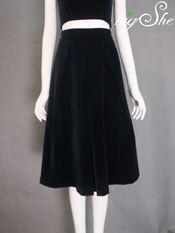 Chân váy V4001 xanh tím