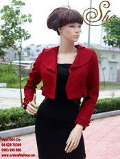 Áo Vest7001 Đỏ