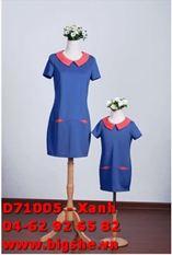 Đầm D71005 Xanh