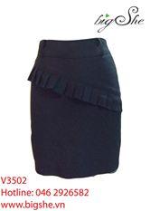 Chân váy công sở V3502
