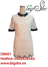 Đầm ren suông 2 lớp