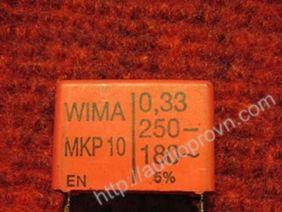 0.33mf-250V WIMA