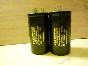 100 + 100 - 500V Mundorf M-Lytic <br/> 50 + 50 - 500V Mundorf M-Lytic