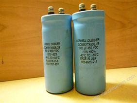 900mf - 450V Cornell Dubilier