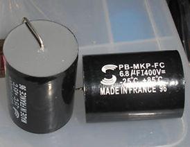 5.6mf / 8.2mf / 18mf - 400V