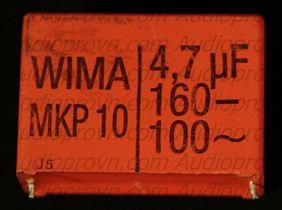 4,7 mF-100V-160V-Wima MKP