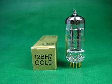 12BH7 gold Electrohamonic