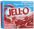 Jell-O vị dâu chuối (Jell-O Sugar-Free Gelatin)