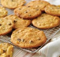 Nutty Golden Syrup Cookies