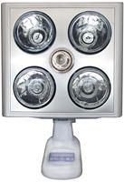 Đèn sưởi nhà tắm Kottmann  (4 bóng bạc)