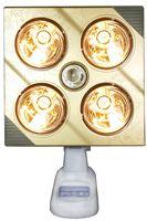 Đèn sưởi nhà tắm Kottmann  (4 bóng vàng)