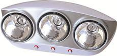 Đèn sưởi nhà tắm Kottmann  (3 bóng bạc)