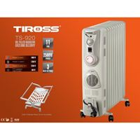Máy sưởi dầu Tiross TS920 (11 thanh có quạt sưởi)