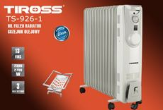 Máy sưởi dầu Tiross TS926-1 (13 thanh không quạt)
