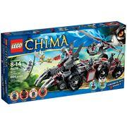 Đồ chơi xếp hình Lego Chima 70009 - Xếp hình sào huyệt bộ tộc Sói