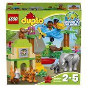 Đồ chơi xếp hình Lego Duplo 10804 - Rừng Rậm Hoang Dã