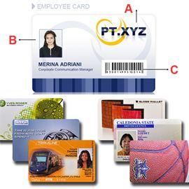 In thẻ nhân viên bằng nhựa giá rẻ, đẹp nhất theo yêu cầu tại Hà Nội