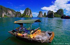 Noibai - Haiphong - Catba - Lanha - Hanoi